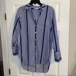 Madewell Long Sleeve Button Down Shirt